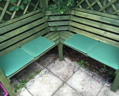 Arbour Seating Area