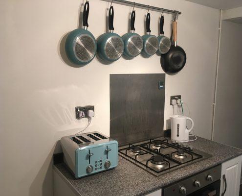 New Saucepans & Toaster
